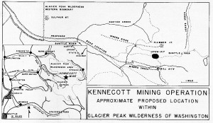 Kennicott open pit map