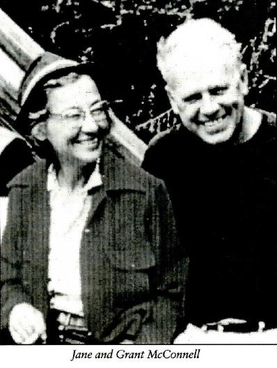 Jane and Grant McConnell