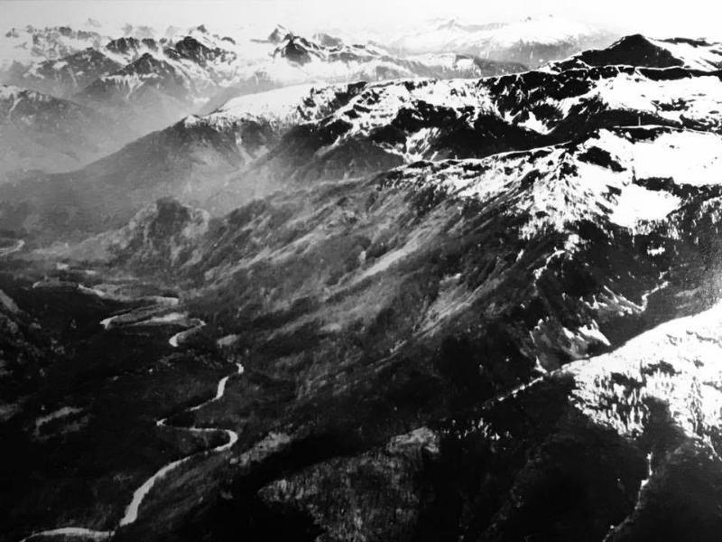 Upper Skagit River Gorge Washington Usa Stock Photo ... |Upper Skagit Valley